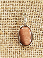 Load image into Gallery viewer, Custom Goldstone Necklace