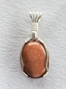 Custom Goldstone Necklace