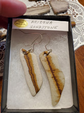 Load image into Gallery viewer, Arizona Sandstone Earrings Sterling Silver