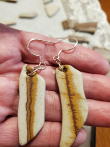 Arizona Sandstone Earrings Sterling Silver