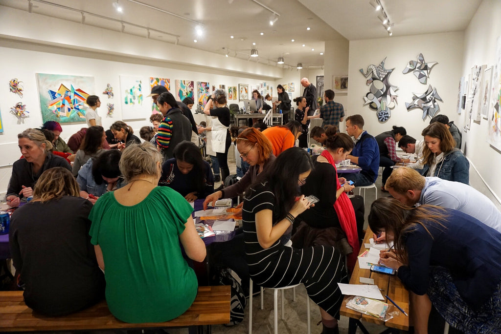Printmaking Workshop & February Group Show Opening