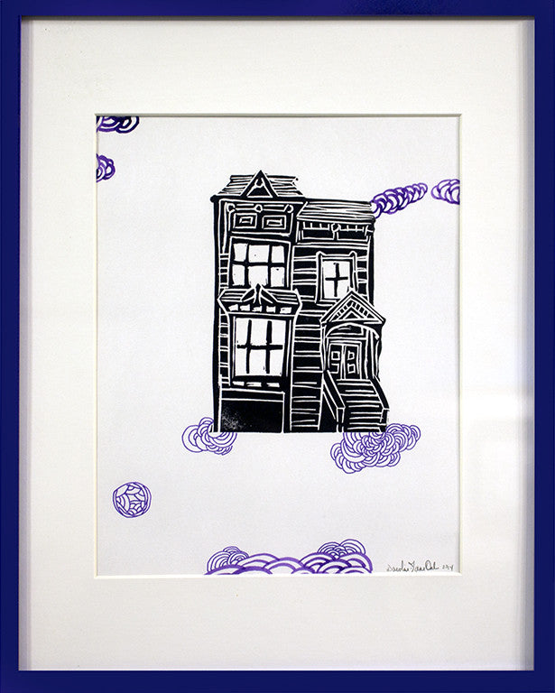 Untitled House Study (Purple) - Art Attack SF