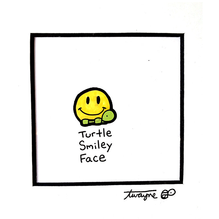 Turtle Smiley Face - Art Attack SF
