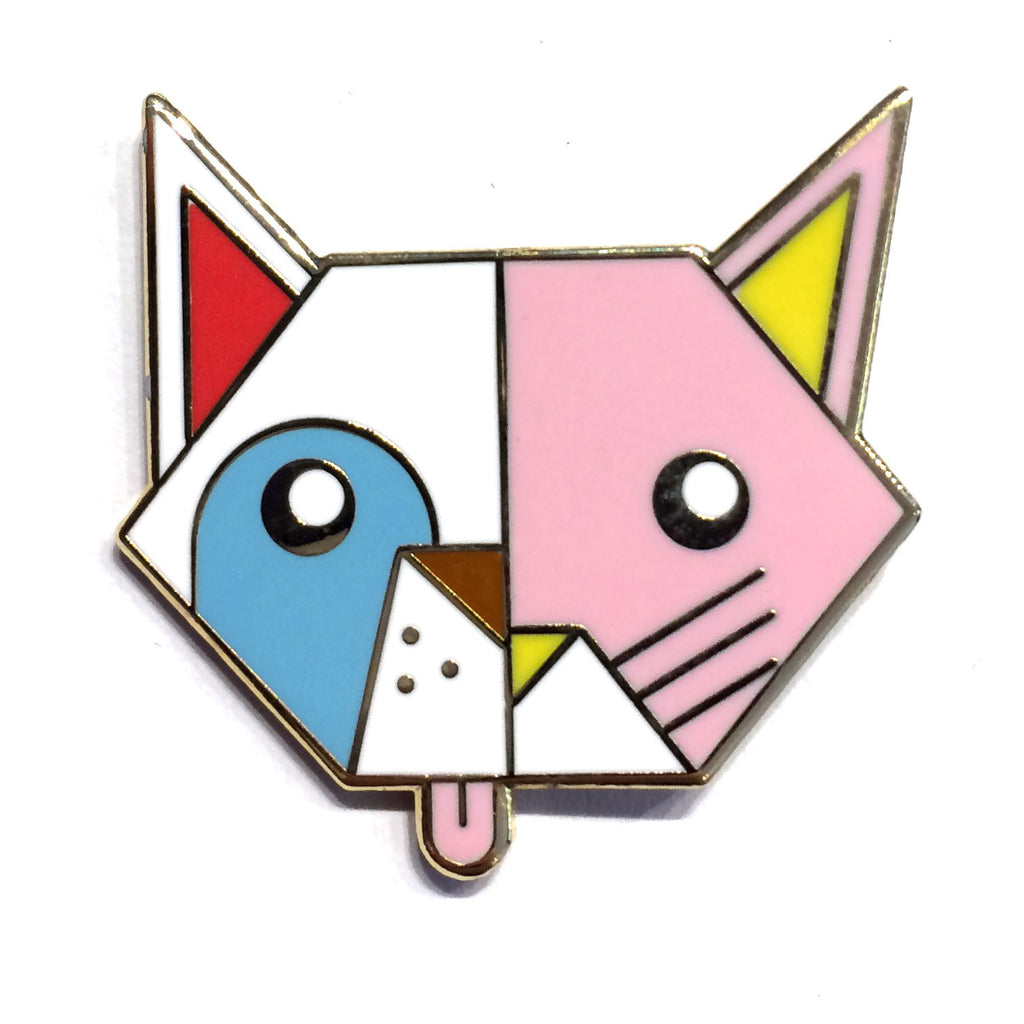 Best in Show CatDog Pin - Art Attack SF