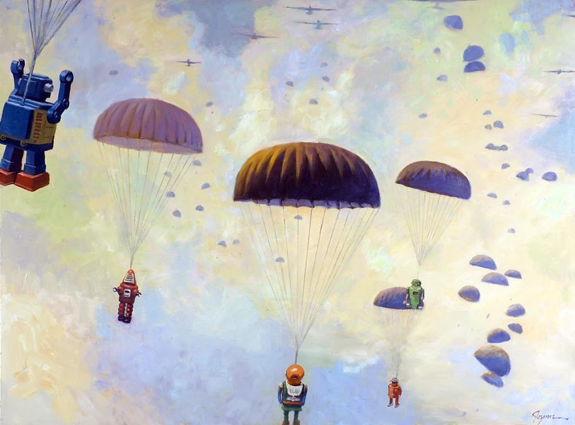 Paratroopers - Art Attack SF