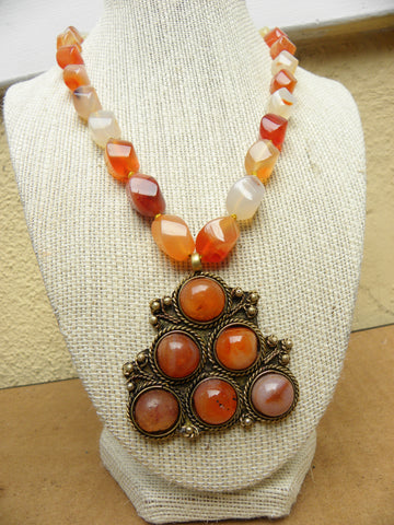 Vintage Carnelian Necklace