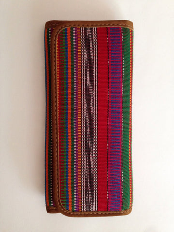 Beautiful Ethnic Guatemalan Checkbook Wallet
