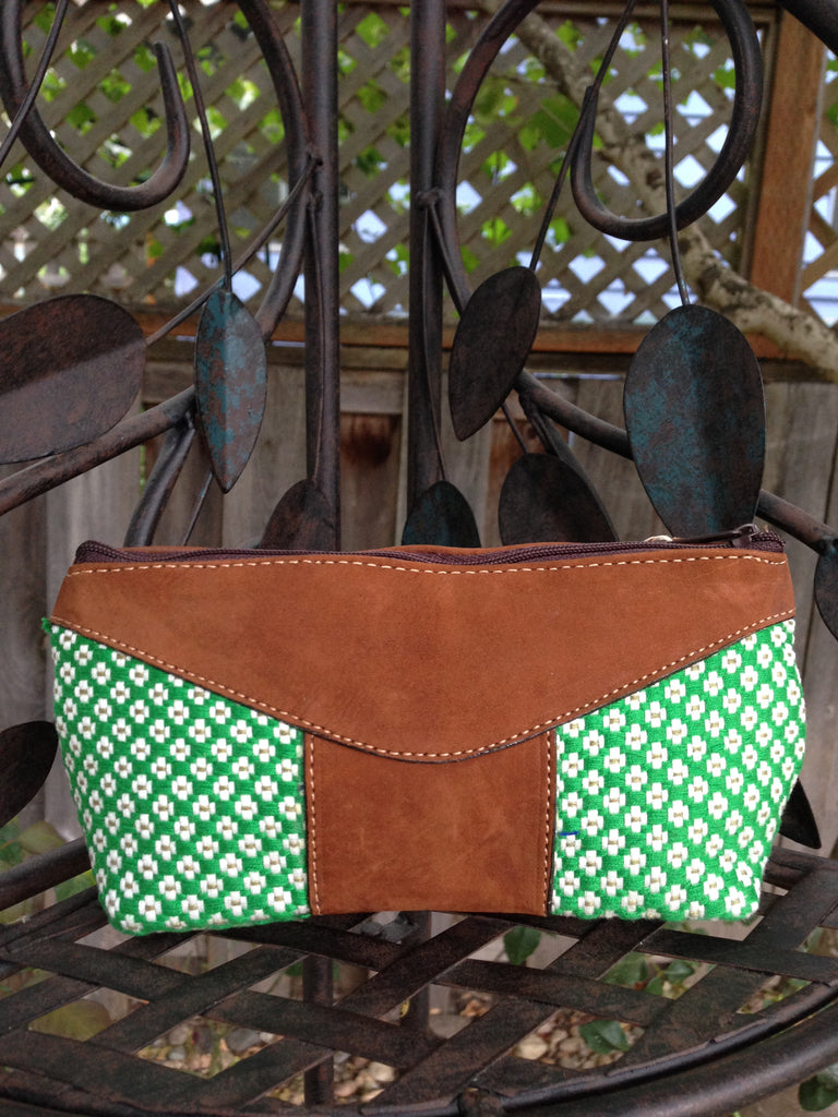Guatemalan Cosmetic Bag, pencil bag, hand purse, zipper pouch