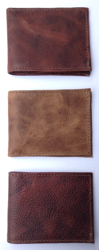 Leather wallets, handmade in Guatemala - Milena's Corner