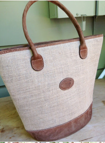 50% off SALE, Guatemalan textiles, Raffia fabric, handmade, authentic leather, bag, purse