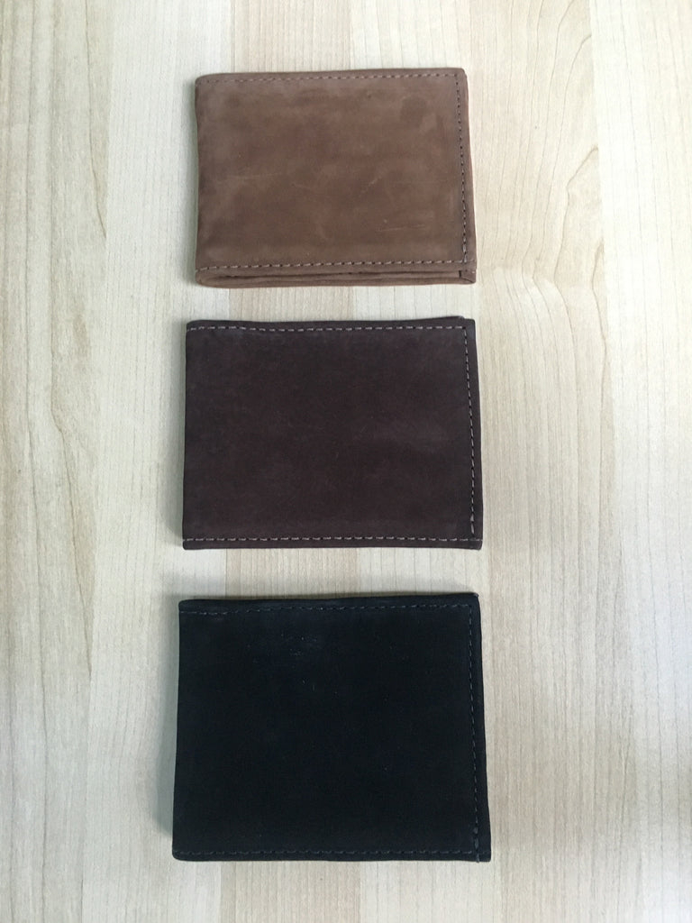 Ultrasuede leather, handmade wallets - Milena's Corner