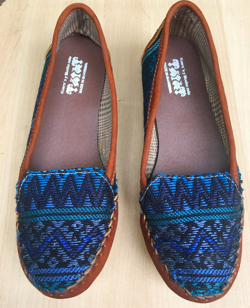 Blue Midnight, moccasins, loafers, handmade - Milena's Corner