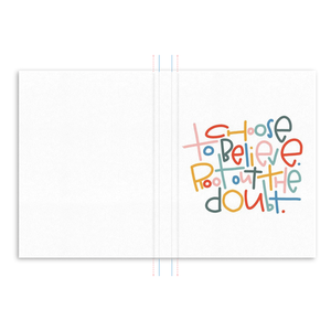 Choose to Believe Hardcover Journal