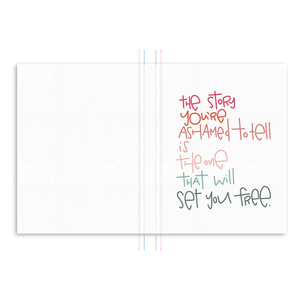 Set You Free Hardcover Journal