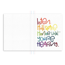 Load image into Gallery viewer, Listen Hardcover Journal
