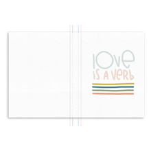 Load image into Gallery viewer, Love is a Verb Hardcover Journal