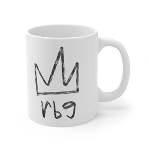 Mug 11oz | Notorious RBG Ruth Bader Ginsburg Crown