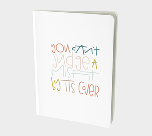 Misfit Large 7x10 Notebook