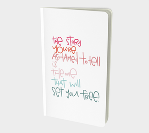 Set You Free Small 5x8 Notebook