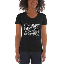 Load image into Gallery viewer, Consent Culture Slim Fit Crew Neck T-shirt