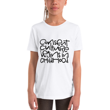 Load image into Gallery viewer, Consent Culture Youth Short Sleeve T-Shirt