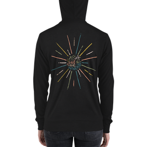 Child of the Universe Adult zip hoodie