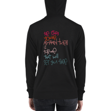 Load image into Gallery viewer, Set You Free Adult zip hoodie