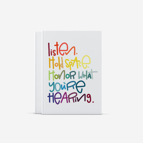 Listen Hardcover Journal