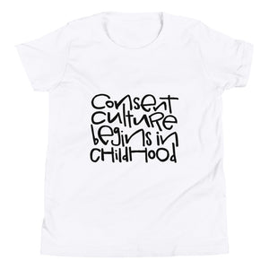 Consent Culture Youth Short Sleeve T-Shirt