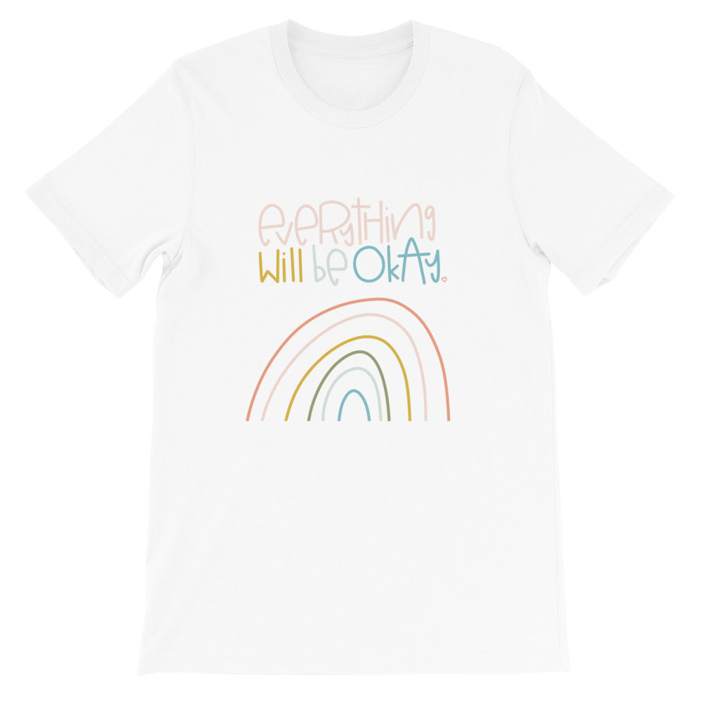 Everything Will Be Okay Short-Sleeve Adult T-Shirt