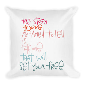 Set You Free Premium Throw Pillow