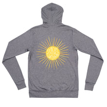 Load image into Gallery viewer, Sunshine Adult zip hoodie