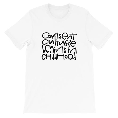 Consent Culture Short-Sleeve Adult T-Shirt