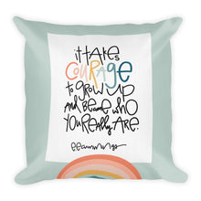 Load image into Gallery viewer, Courage Premium Throw Pillow