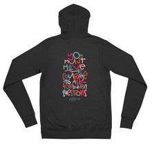 Load image into Gallery viewer, Forbidden Questions Adult zip hoodie