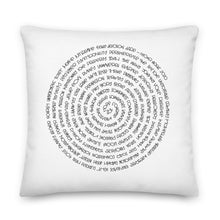 Load image into Gallery viewer, (Y)oUR WoRDs Premium Throw Pillow