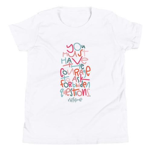 Forbidden Questions Youth Short Sleeve T-Shirt