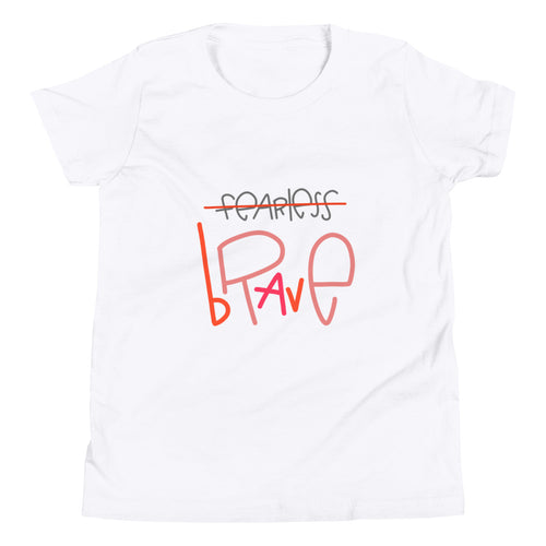 Be Brave Youth Short Sleeve T-Shirt