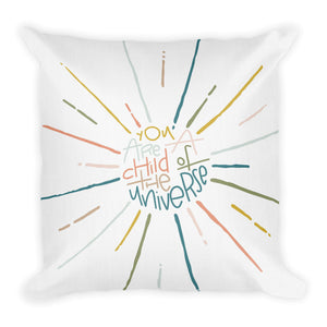 Child of the Universe Premium Throw Pillow