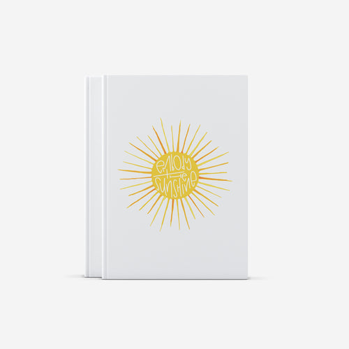 Sunshine Hardcover Journal