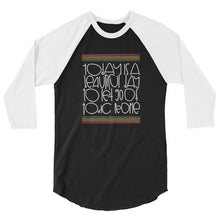 "Load image into Gallery viewer, ""Today is a Beautiful Day to Let Go of Toxic People"" 3/4 sleeve raglan shirt"