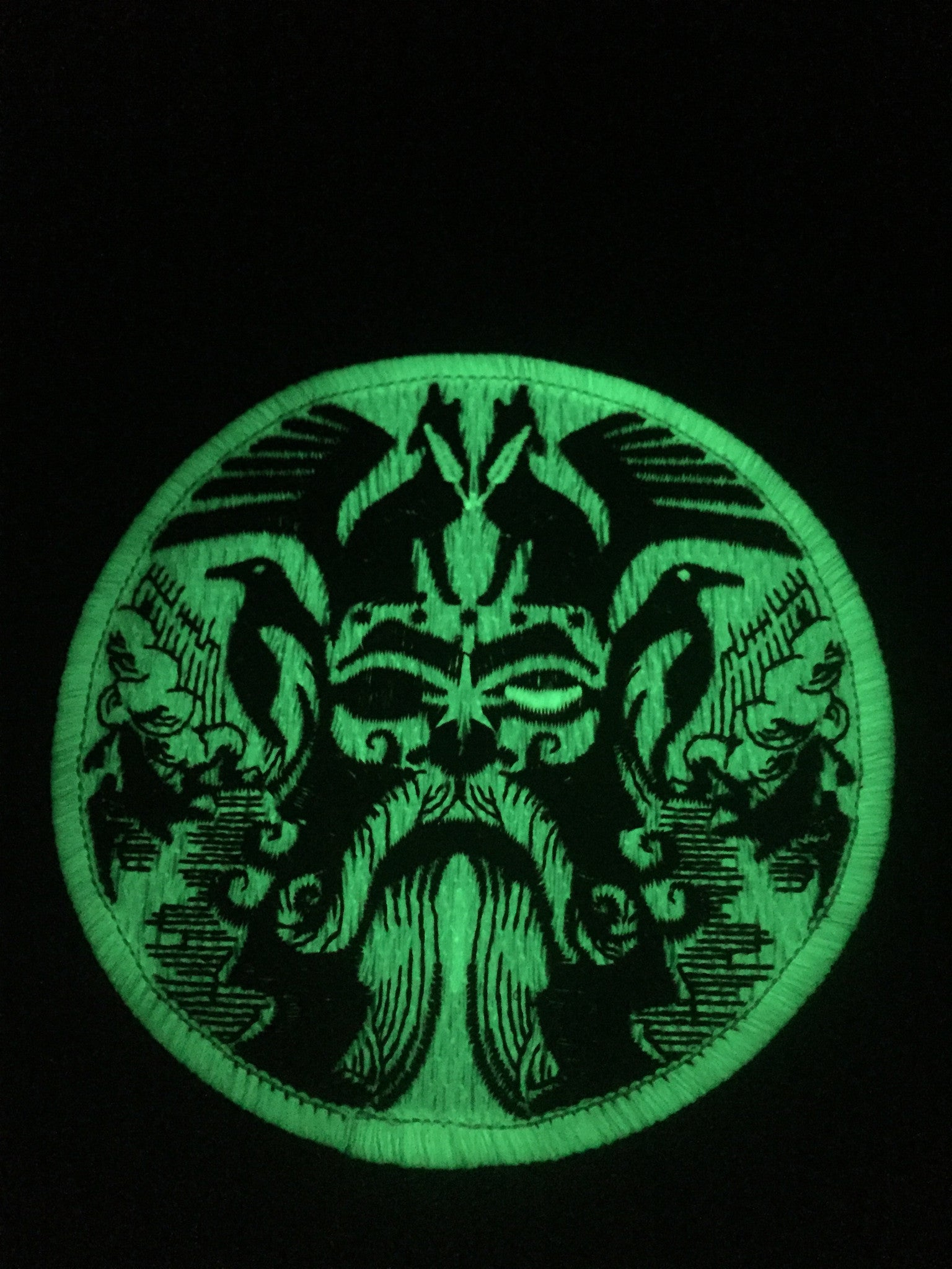 Christmas Odin the All Father Glowing patch - Rogue Dynamics