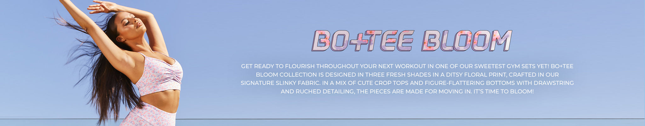Bo+Tee Bloom Collection banner