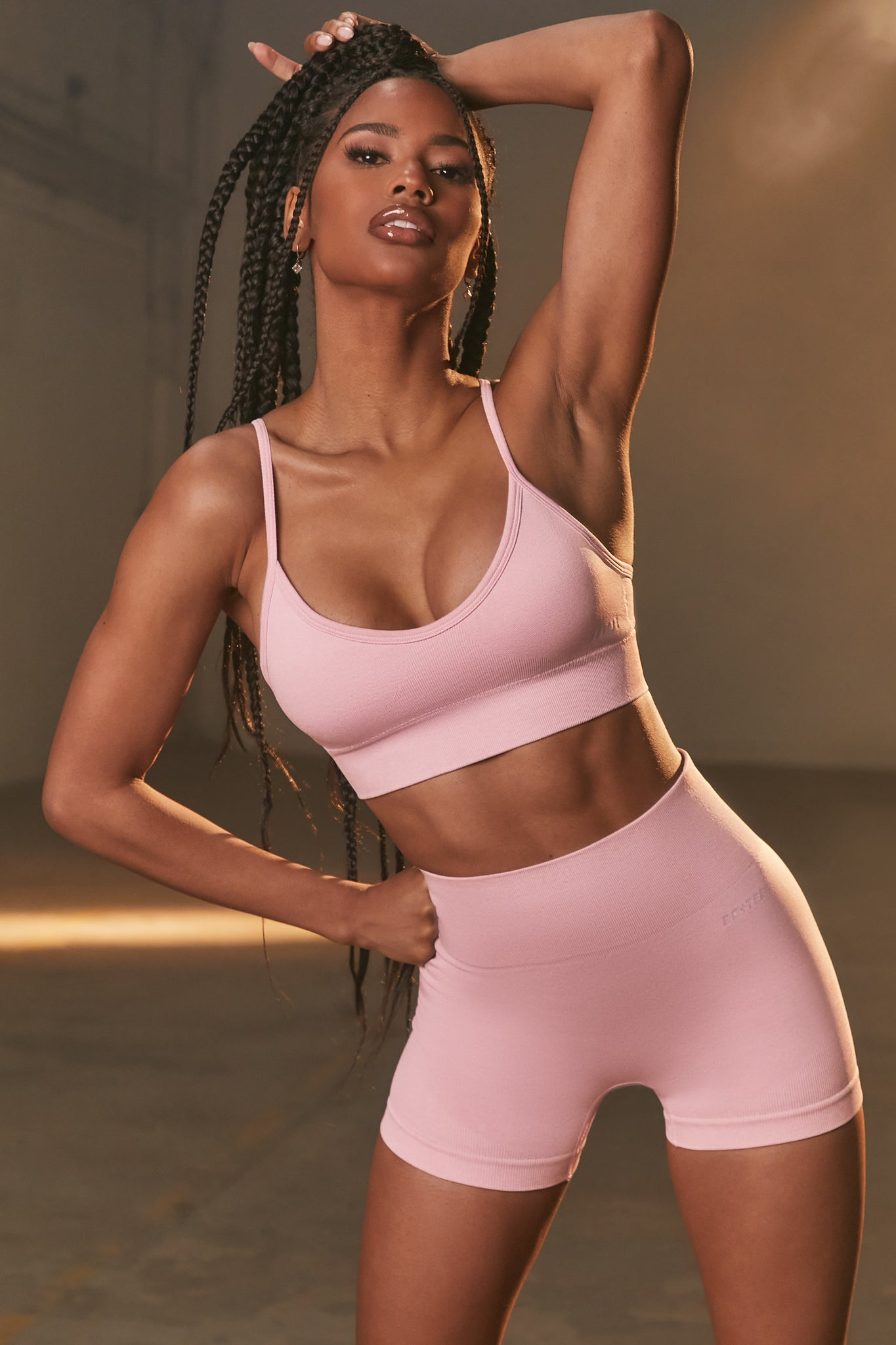 Empower - Sports Bra in Mauve Pink