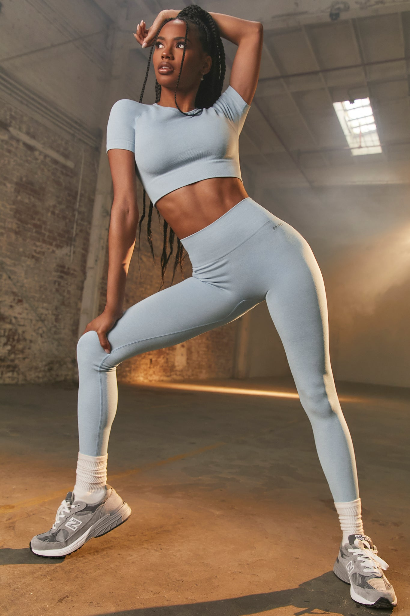 Unstoppable Petite - Leggings in Sky Blue
