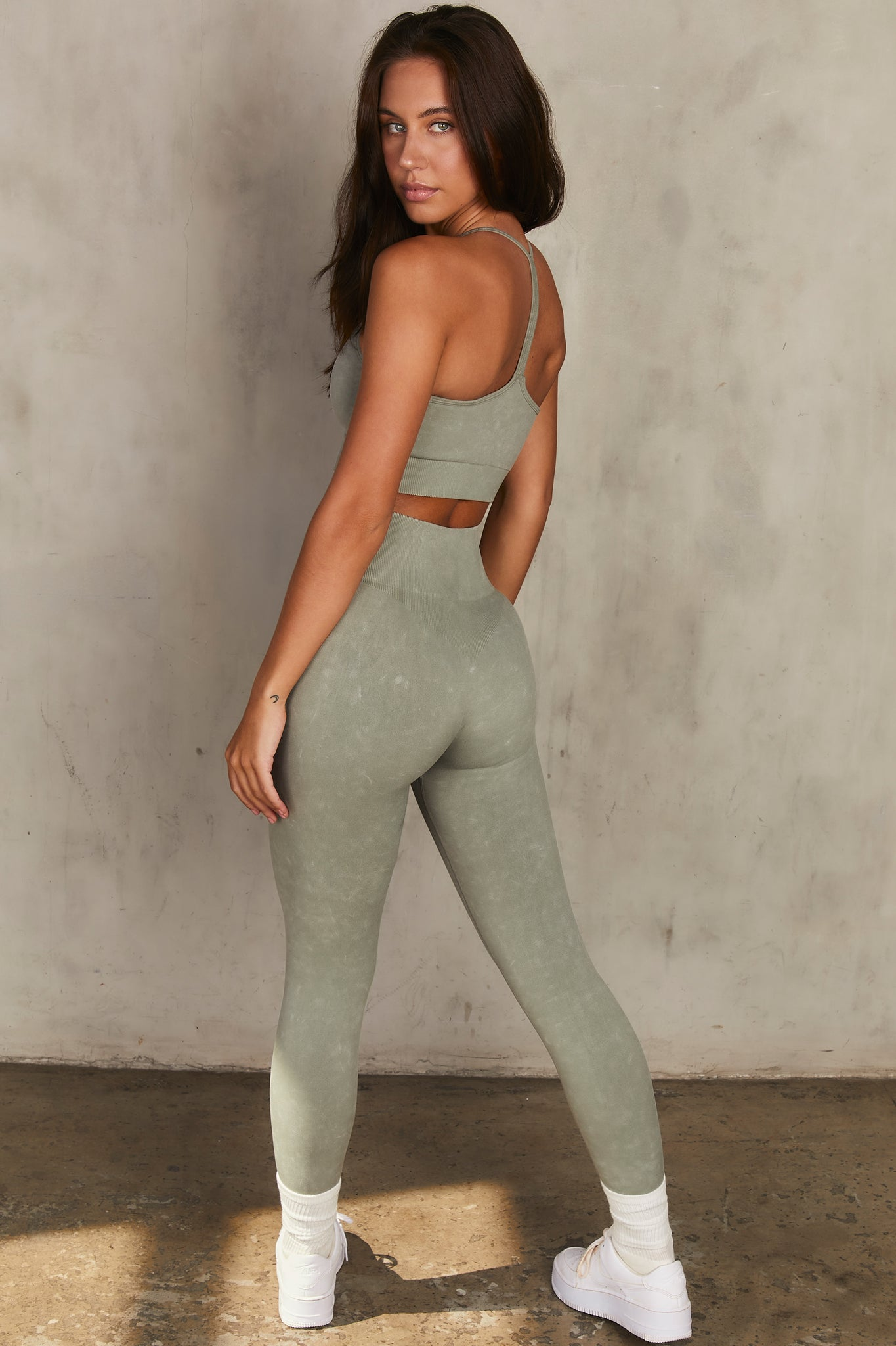 Reflex - Leggings in Sage