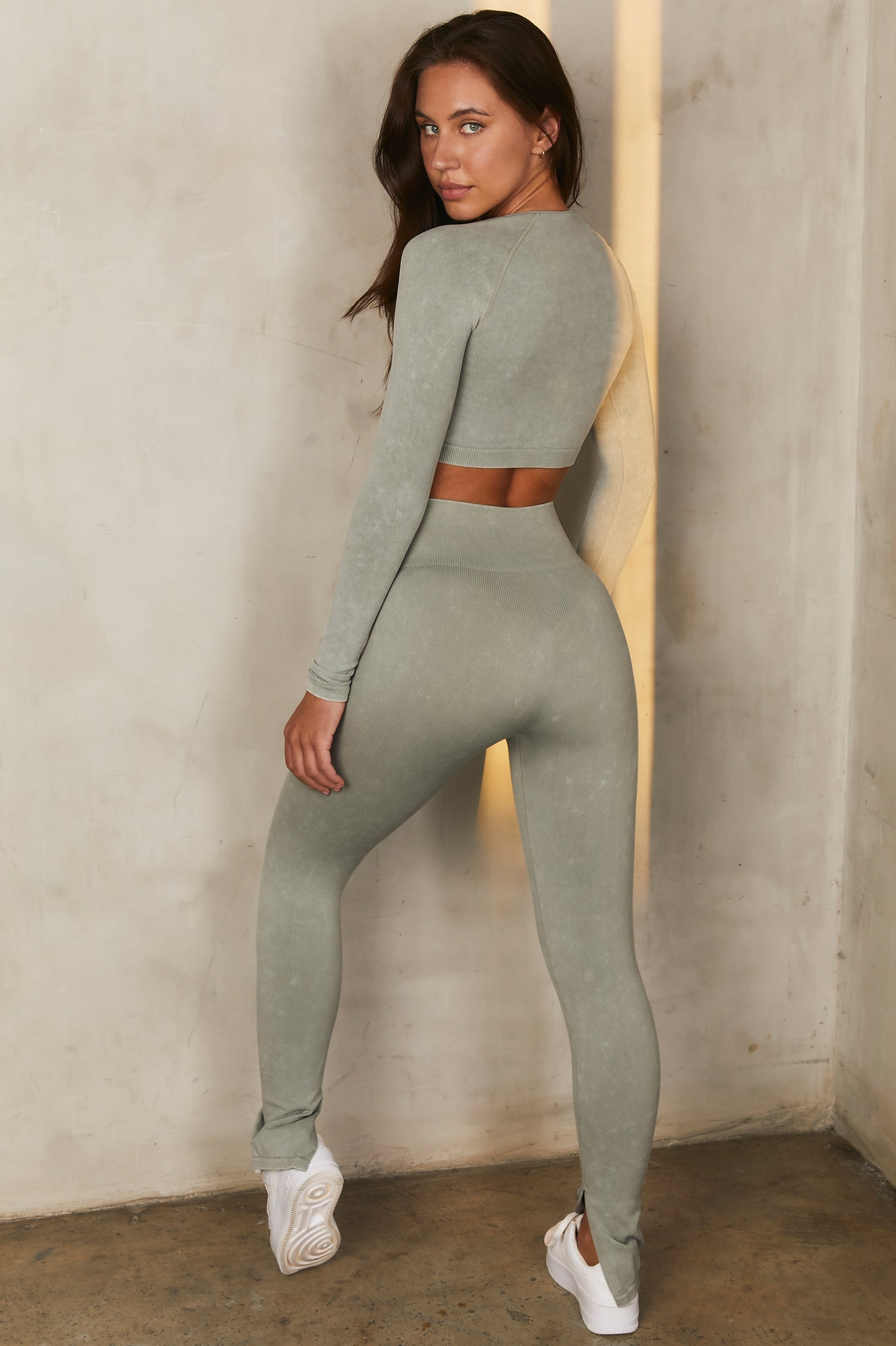 Variation Petite - Leggings in Sage