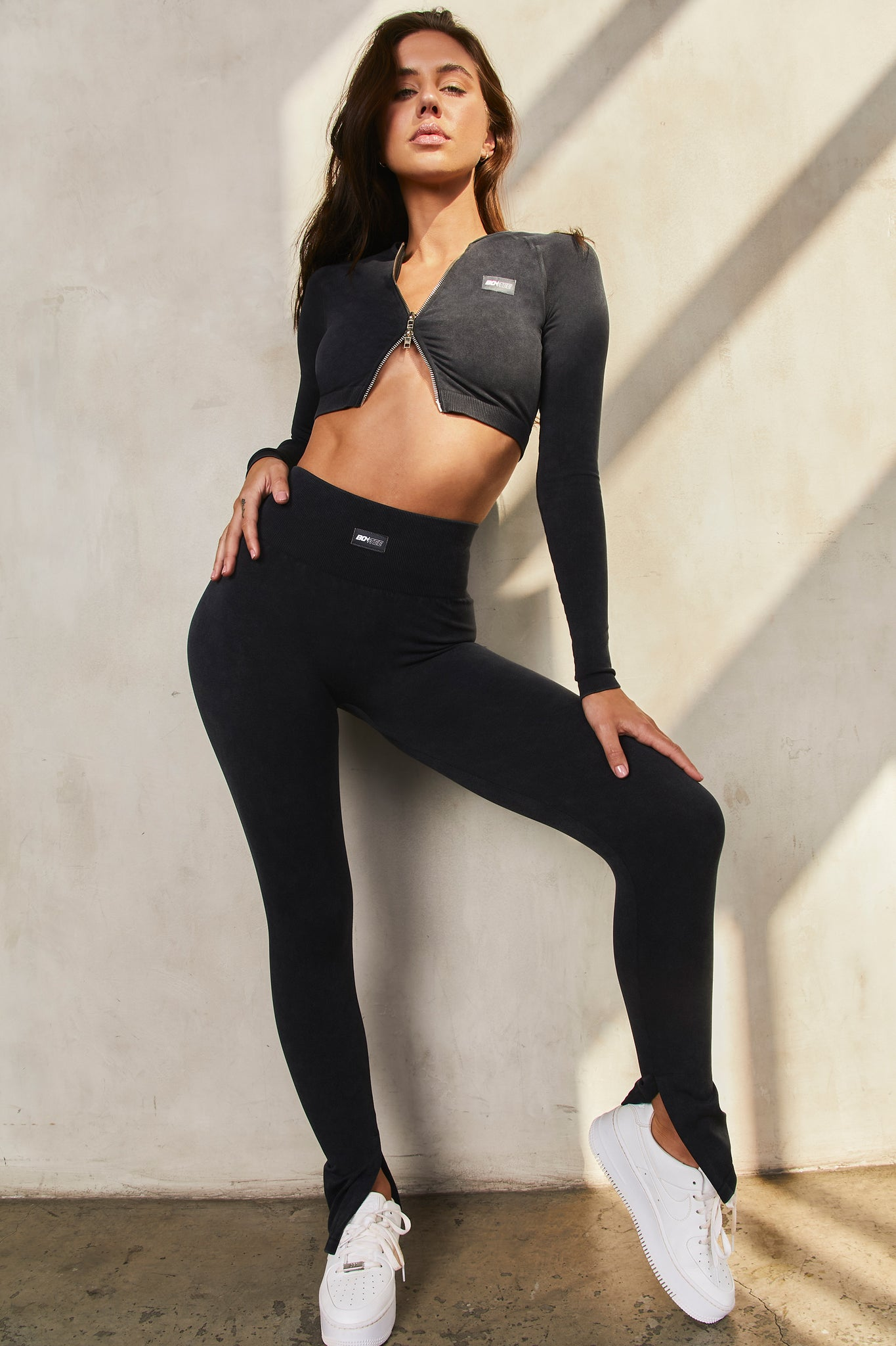 Variation Petite - Leggings in Black