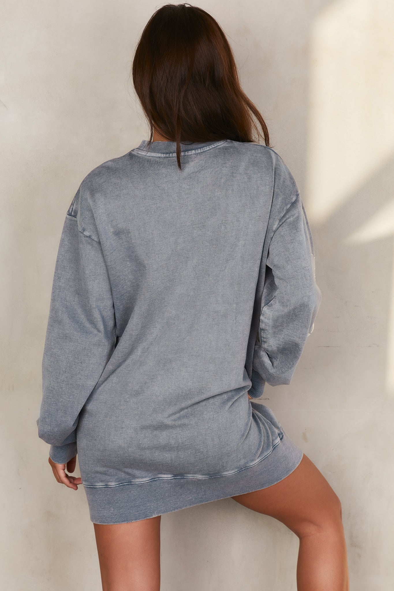 React - Sweatshirt in Charcoal