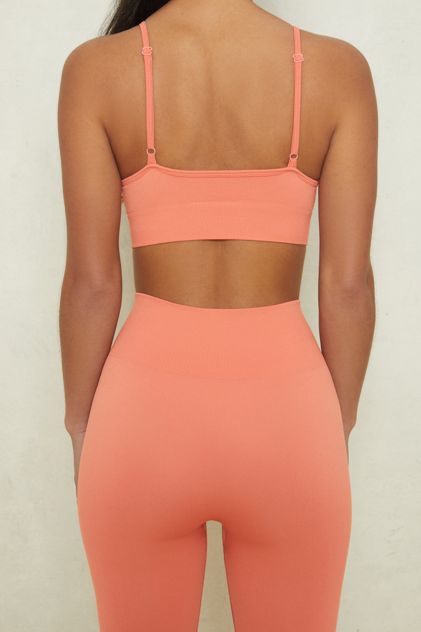 Stretch - Sports Bra in Terracotta